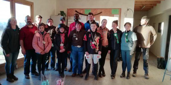 Concours de Tir à l'Arc à Cheval, Championnat régional, le Dimanche 05 Janvier 2020